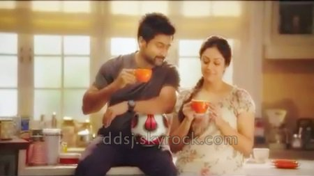 Surya & Jyothika in New Sunrise Football ad - 2 - Dev & Diya - kutty
